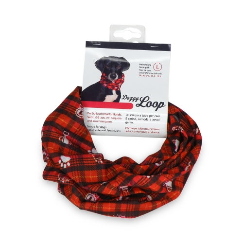 Doggy Loop Hundeschal rot XL