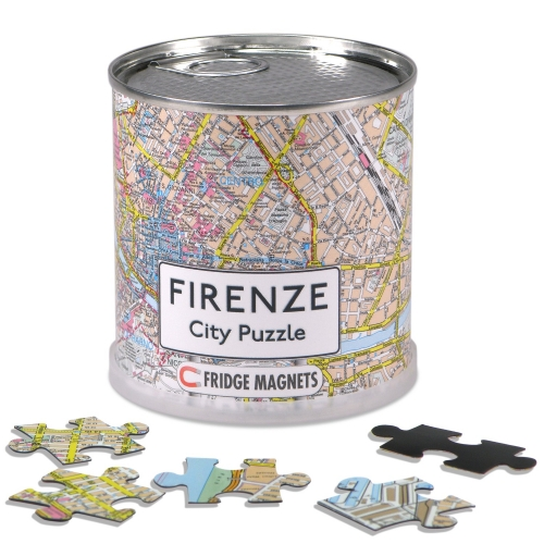 City Puzzle Magnets Florenz
