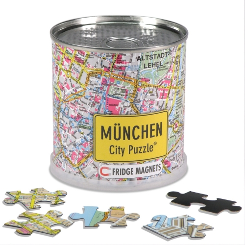 City Puzzle Magnets München