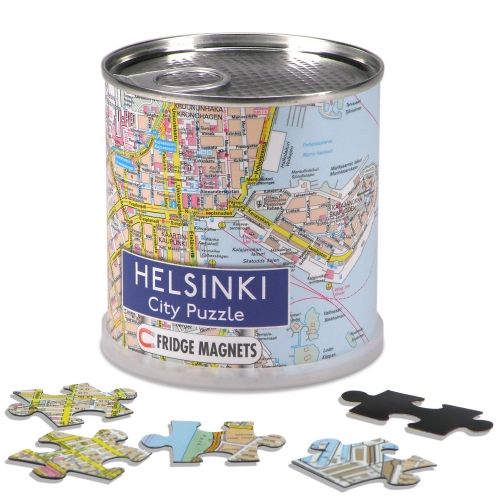 City Puzzle Magnets Helsinki