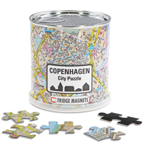 City Puzzle Magnets Copenhagen
