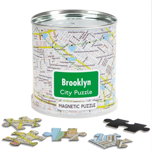 City Puzzle Magnets Brooklyn