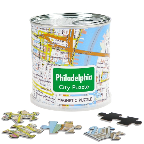 City Puzzle Magnets Philadelphia