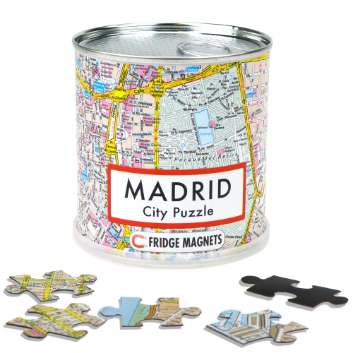 City Puzzle Magnets Madrid