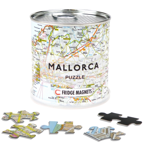 City Puzzle Magnets Mallorca