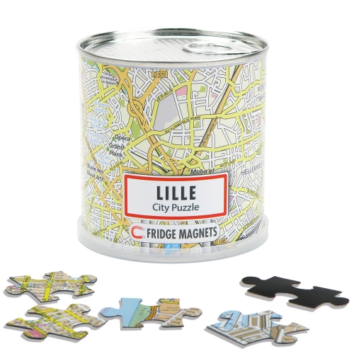 City Puzzle Magnets Lille
