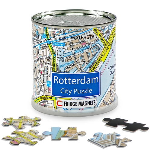 City Puzzle Magnets Rotterdam