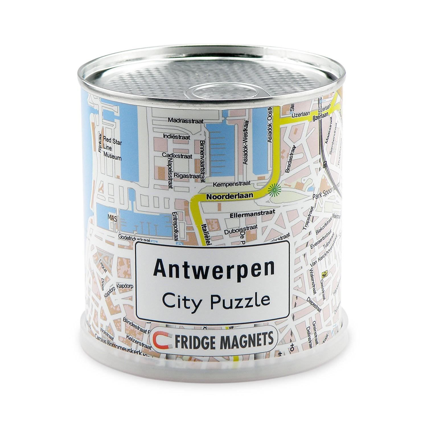 City Puzzle Magnets Antwerpen