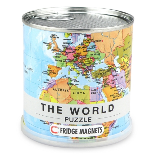 World Puzzle Magnets English