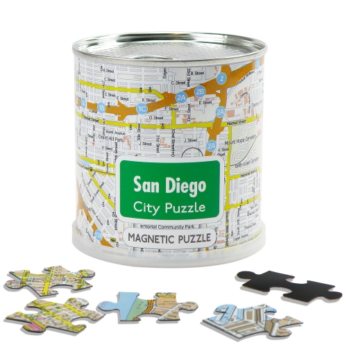 City Puzzle Magnets San Diego