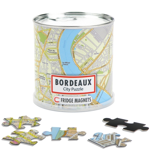 City Puzzle Magnets Bordeaux Craenen
