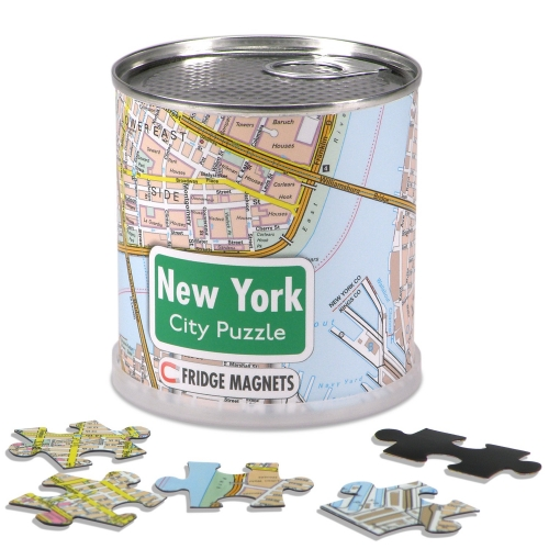 City Puzzle Magnets New York