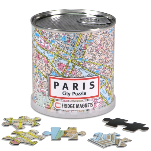 City Puzzle Magnets Paris